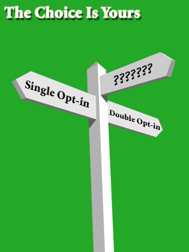 Single and Double Opt-in Options